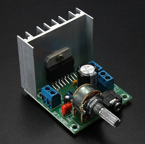 УНЧ на TDA7297 2*15W Version B (SKU094835)