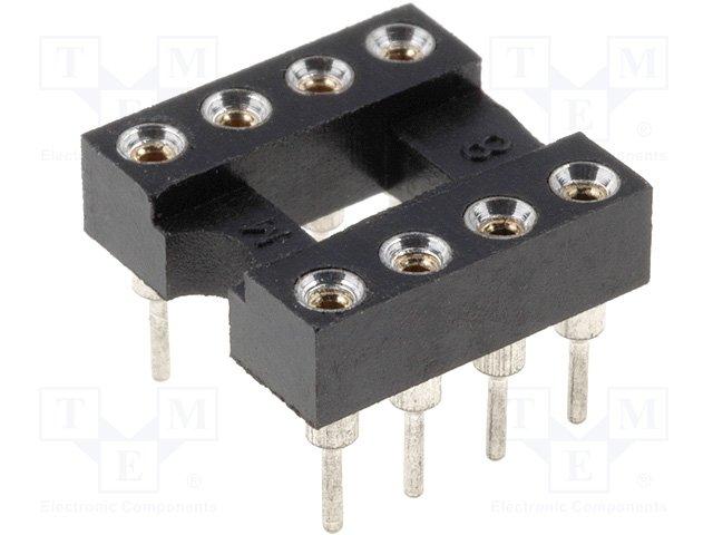 P8P (GOLD-8P Socket:DIL; PIN:8