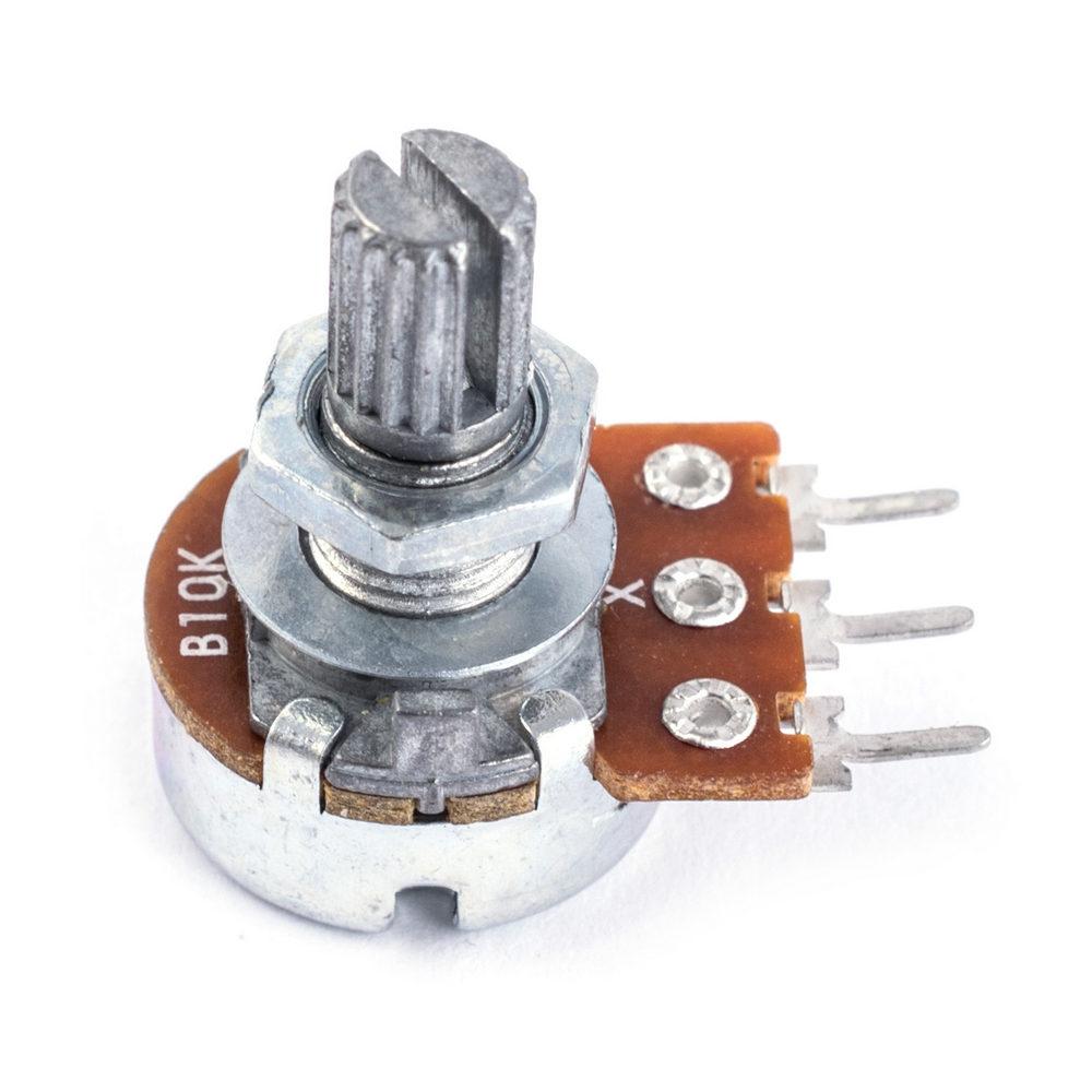3х сексионный переменный резистор регулятор на микросхемах