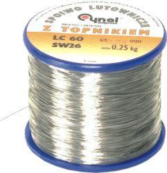 LC60-0.70/0.25 Проволочный припой Sn-60% Pb-40% 0,70мм 0,25кг