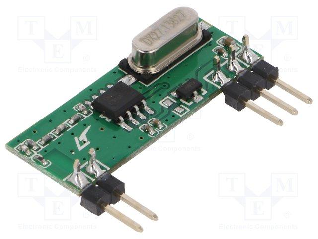 RFM210LCF-433D-A (DIP, HopeRF) RX module, OOK, -114dBm, 5V